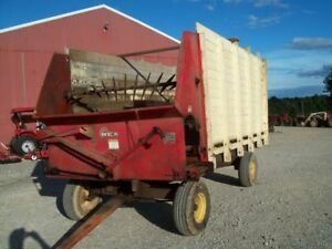 Nice Older Lamco Rex Self Unloading Silage Wagon Good Condition