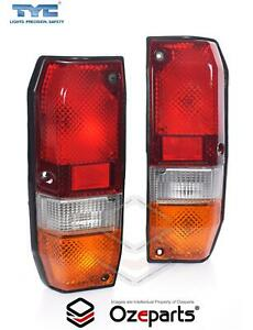Pair Lh Rh Tail Light Lamp For Toyota Landcruiser 70 75 Series Troopy 1985 1999