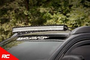 Rough Country 40 Curved Led Light Bar Roof Kits fits 2005 2015 Toyota Tacoma