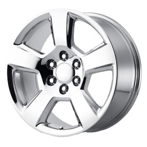 Chevrolet Silverado 1500 Style Wheel 20x9 27 Chrome 6x139 7 6x5 5 Qty 2