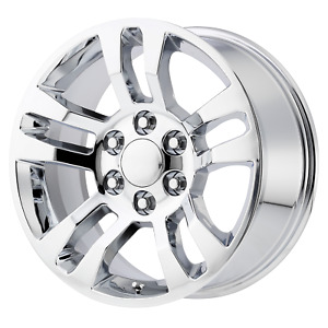 Chevrolet Silverado Style Wheel 18x8 5 24 Chrome 6x139 7 6x5 5 Qty 4