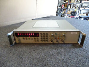 Hp Agilent 5334a 100 Mhz Universal Frequency Counter Opt 020 060