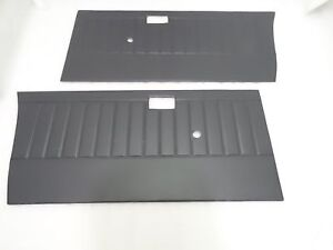Suzuki Samurai Gypsy Sj410 Sj413 Inside Door Panel Set Grey Vinyl