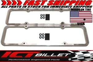 Sbc Small Block Chevy 1 Billet Valve Cover Spacer Aluminum 350 551661 1