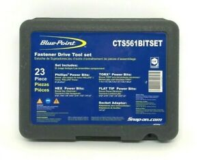 Blue Point Cts561bitset 21 Pc 1 4 Drive Quick Change Bit Set