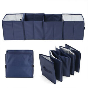 Trunk Suv Auto Organizer Folding Car Storage Bag Collapsible Cargo Box With Cooler