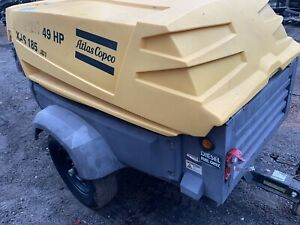 Atlas Copco 185cfm Towable Air Compressor