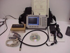 Anritsu S331d Sitemaster Cable Antenna Analyzer Opt3 Color Screen To 4ghz