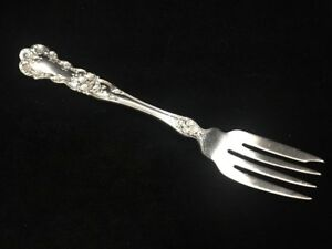 One Gorham Buttercup Pattern Old Marks Sterling Silver Dessert Fork