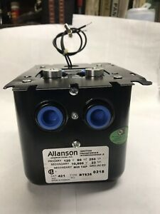 Allanson Ignition Transformer Interchangeable With Universal Mount Plate