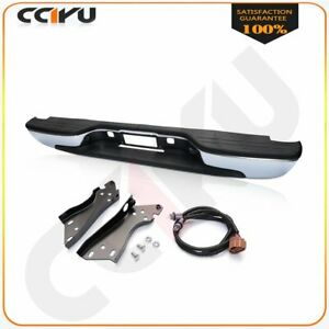 Rear Bumper For 1999 2006 Chevy Silverado Gmc Sierra 1500 Vehile Complete