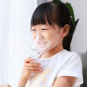 Portable Ultrasonic Mini Nebulizer Battery Operated For Child Adult Asthma O9q6