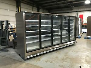 Hussmann Rln 5 Glass Door Remote Freezer Frozen Food Display Case 2014 Model