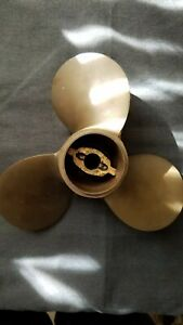 Vintage Brass Propeller Michigan K44 In Original Box Excellent Condition