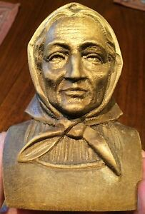 Wood Carving Switzerland Old Farm Woman Grandma Oma