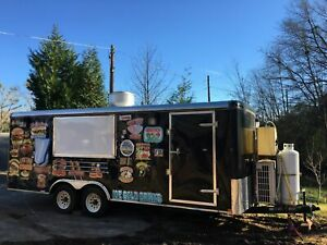 2016 8 X 20 Food Concession Trailer With Truck For Sale In Georgia