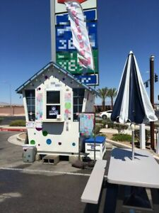 Two Turnkey Towable Shaved Ice Concession Stands For Sale In Nevada