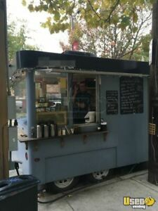8 X 16 Coffee Concession Trailer For Sale In Pennsylvania