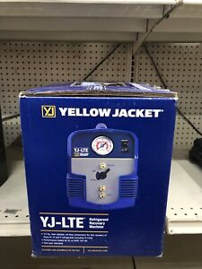 Yellow Jacket Yj lte 95730 Refrigerant Recovery System 8 Amp 1 Phase
