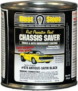 Chassis Saver Antique Satin Black 1 2 Pints Mpc Ucp970 16 Brand New