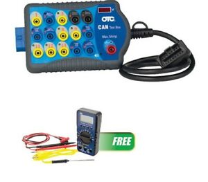 Can Test Box With Free 55 Series Digital Multimeter Otc 3415m Brand New