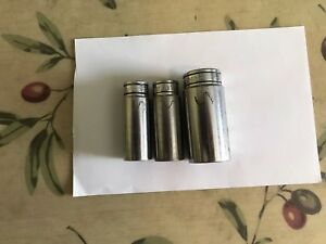 Snap On Sockets Vintage 3 8 Drive Sizes 19 32 5 8 7 8