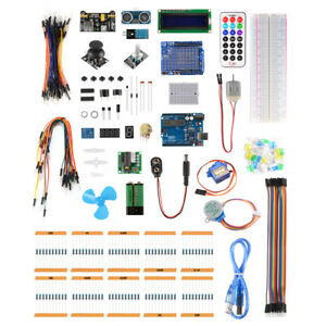 Ultimate Starter Learning Component Kit For Arduino Lcd1602 Uno R3 Suite Te923