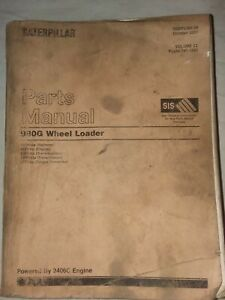 Cat Caterpillar 980g Wheel Loader Parts Manual volume 2 Pages 741 1592
