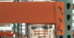 Interlake Ib50et10800rra4000 Pallet Rack Beam 108 L Orange