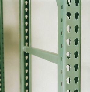 Interlake Ie075f14442g000000 Welded Upright Frame 42 D X 144 H Green