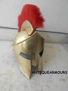 Collectibles King Leonidas 300 Armour Helmet Greek Movie Spartan Antique Gift