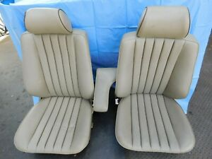 Mercedes W201 190e Oem Electric Front Seats Left Right Tested
