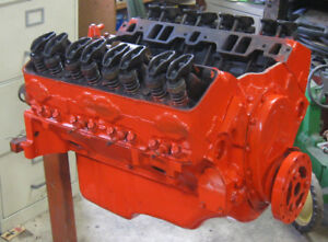 Double Hump Head 327 Chevy Engine 350
