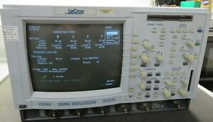 Lecroy Lc334a Oscilliscope 500 Mhz 4 Channel Calibrated To 03 24 2019