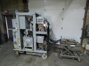 Hydraulic Press Positioner Synchronous 4 Cylinder Movement Way Cool W Video