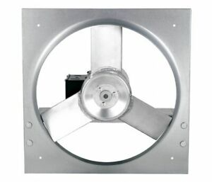 Dayton 10d985 Industrial Direct Drive Exhaust Fan 18 Blade 115 230vac New