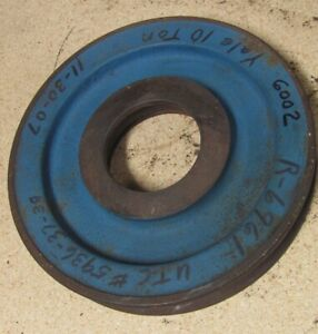 Crane Wire Rope Sheave 9 1 4 O d 9 16 Groove New 4 Available