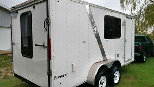 2012 7 X 16 Mobile Kitchen Unit Used Food Concession Trailer For Sale In M