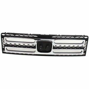 For 2006 2007 2008 2009 Honda Ridgeline Front Grille With Chrome Molding