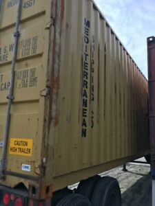 20 Or 40 Shipping Container Used For Repair Only