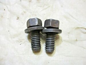 1965 1968 Mustang 289 V8 Motor Mount To Engine Block Bolts Set Of 2
