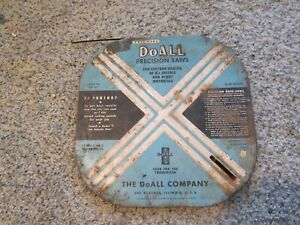 Container Of Doall Precision Saw Blades Width 3 16 Pitch 18 Guage 025 Set 042