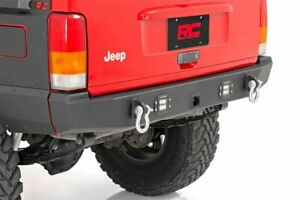 Rough Country Rear Offroad Led Bumper Fits 1984 2001 Jeep Cherokee Xj Trail