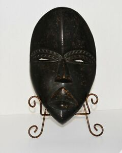 Authentic Male Dan Tribal African Ceremonial Mask