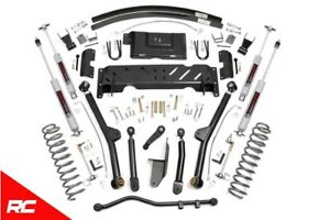 Rough Country 4 5 Lift Kit fits 1984 2001 Jeep Cherokee Xj 4wd Long Arm Susp