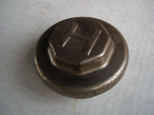 Vintage Hupmobile Hubcap Threaded Grease Cap 1920 28 Good Condition