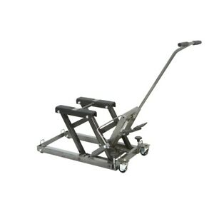 1500 Lbs Capacity Atv Motorcycle Jack Lift Stand Foot Activated Raise Lifting
