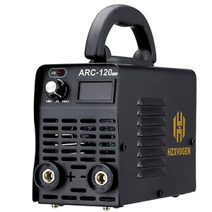 Arc Stick Welder Igbt Dc Inverter Mma Arc 120a 220v Welding Machine With Box