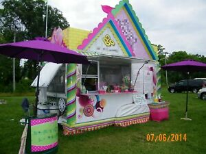 10 X 17 Food Concession Trailer For Sale In Indiana