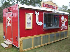 Ready To Work 2014 8 X 18 Cargo Mobile Kitchen Unit food Concession Trailer